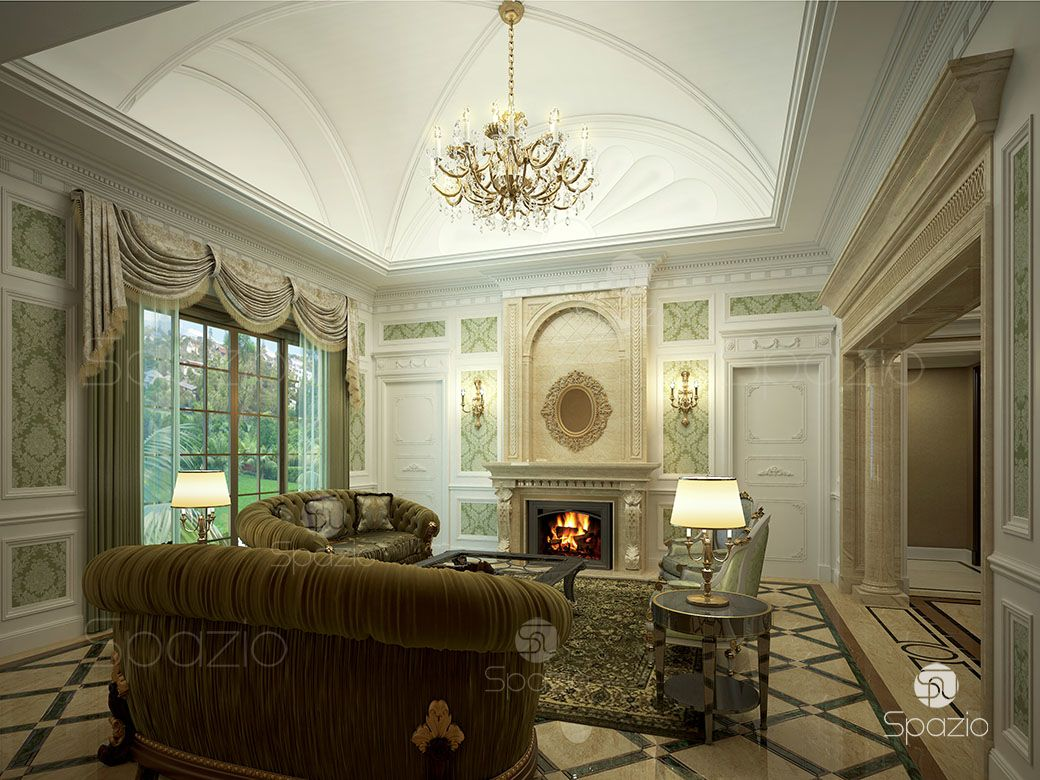 Living Room Palace Interior Design