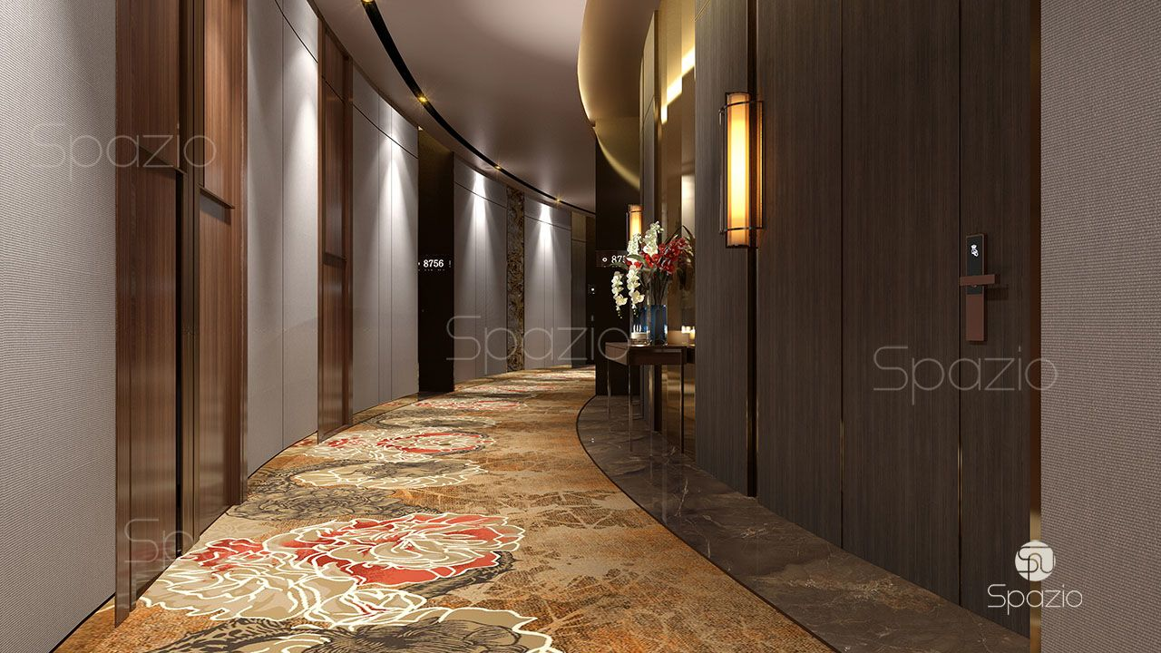 architecture interior design of a Dubai hotel | Spazio, UAE