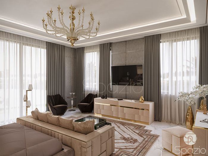 beautiful interior design projects of Dubai house | Spazio design company