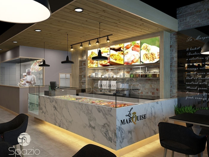 cafe design project in Dubai UAE