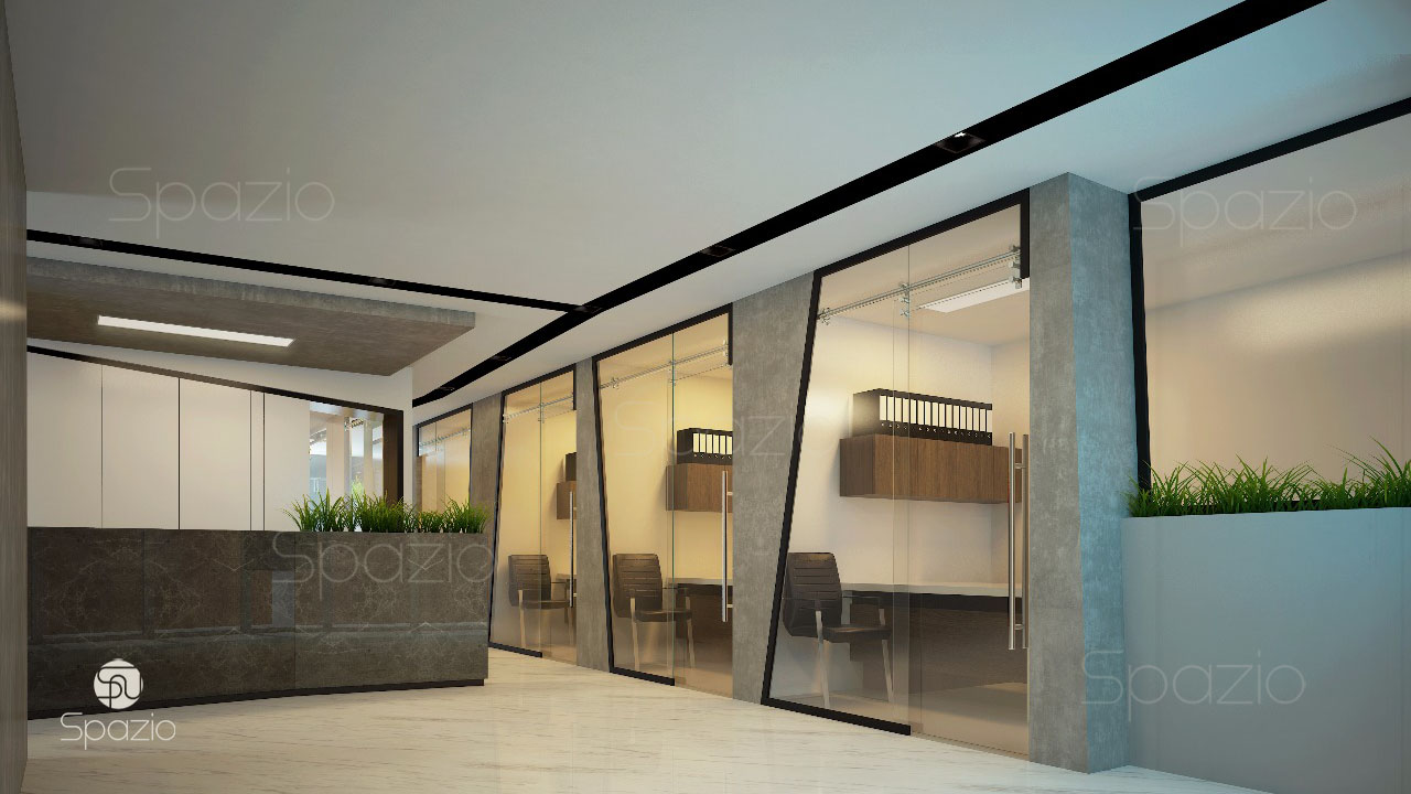 Contemporary Office Design Dubai Uae