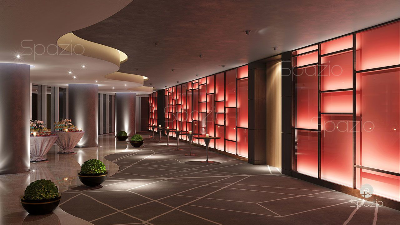 interior design of hotels in dubai top designers spazio
