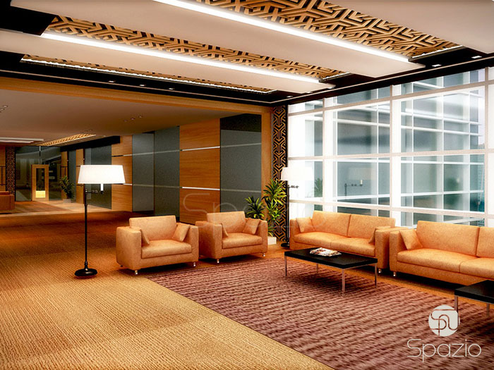 large office design project in Dubai
