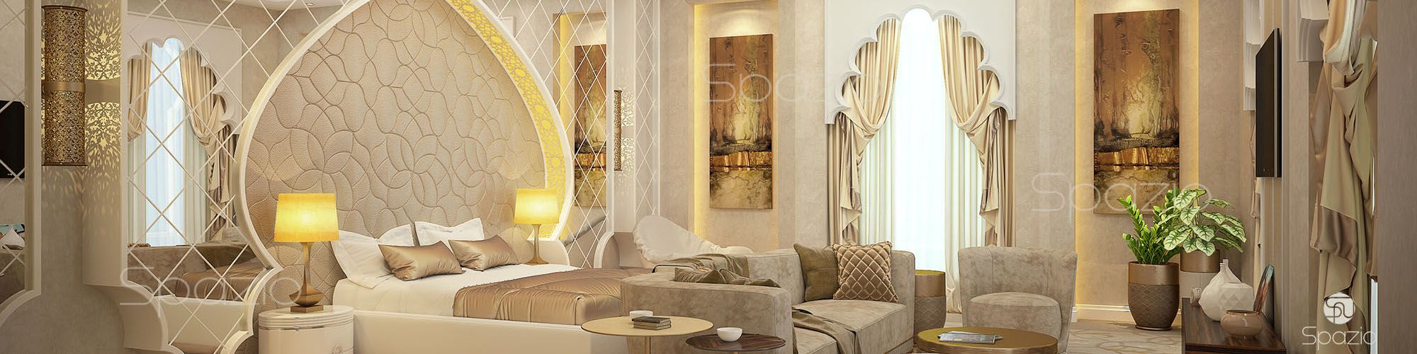 luxury interior design in Dubai UAE spazio