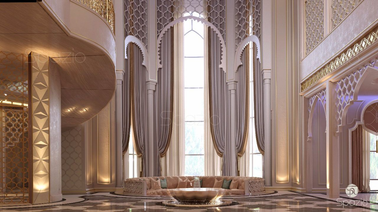 Modern Moroccan Interior Design In Dubai. Moorish Style Homes In Abu Dhabi.