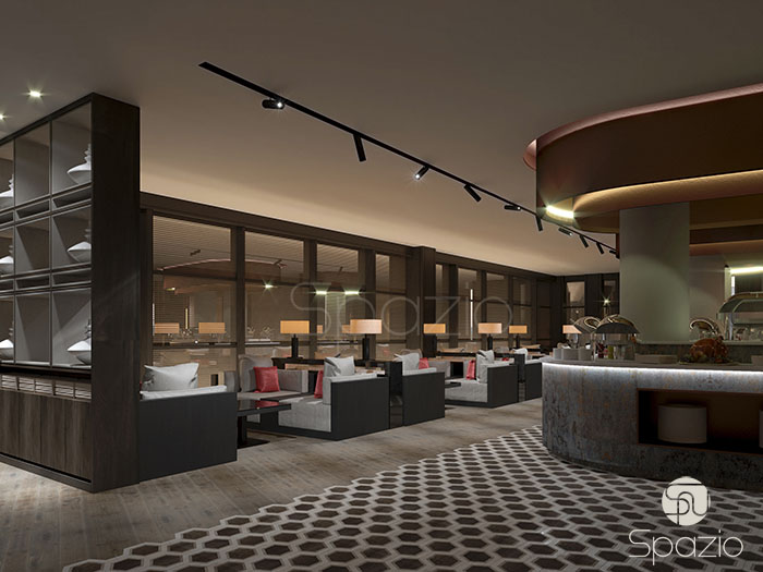 modern restaurant design project