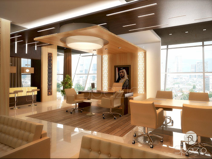 office design project in business bay area of Dubai | Spazio