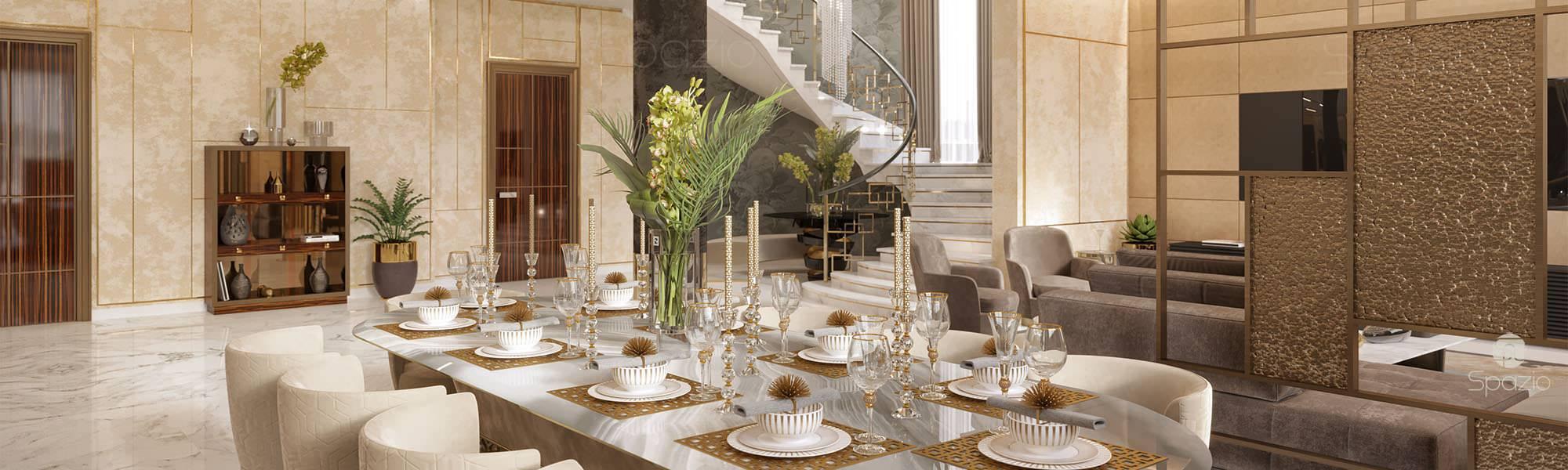dining room | Spazio Interior Decoration LLC, Dubai | Spazio