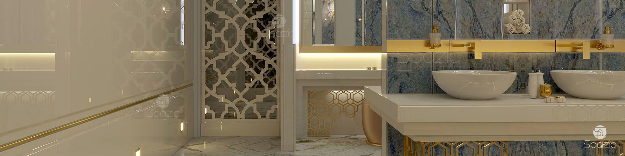 Bathroom design dubai uae spazio for Bathroom designs dubai