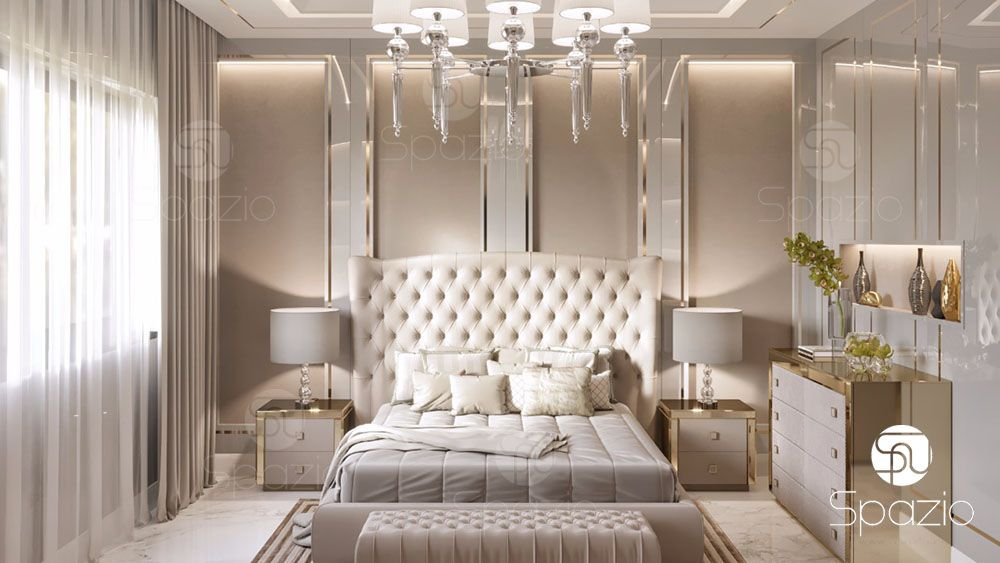 luxury dubai bedroom design