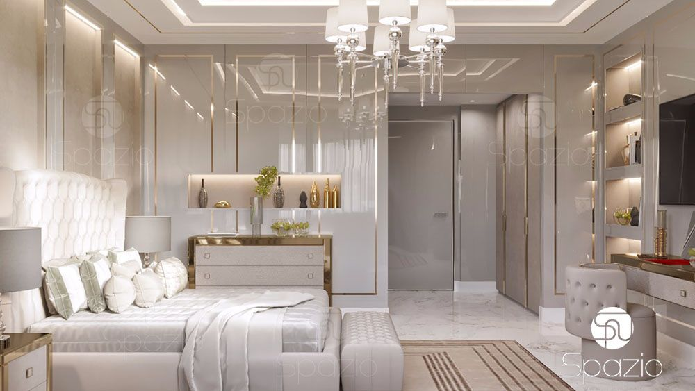 High-end bedroom design spazio