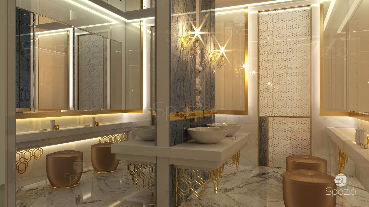 Bathroom design in dubai bathroom designs 2018 spazio for Master bathroom 2018