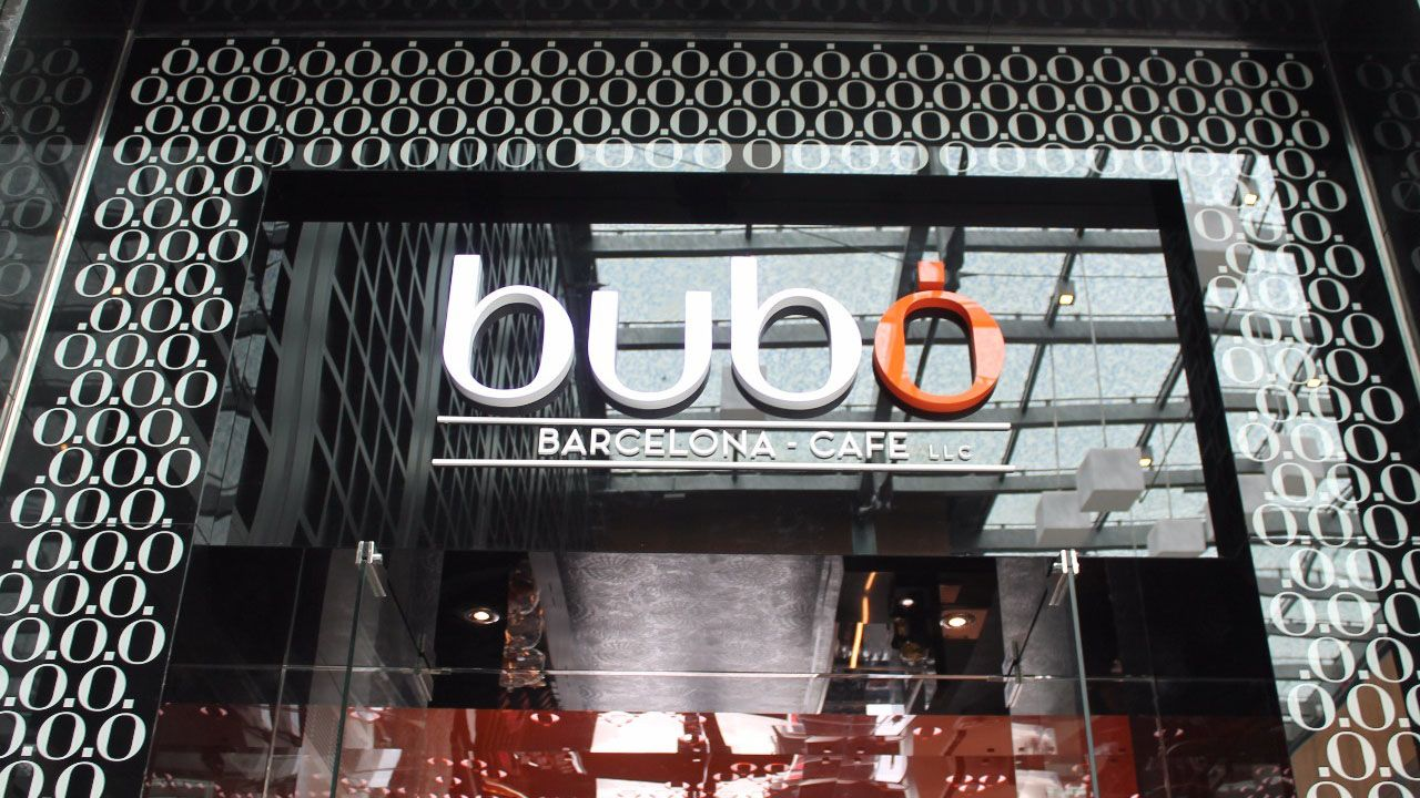 The solution for Bobo barcelona cafe was created by our architects and decorators