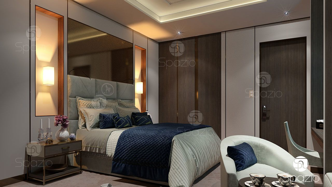 hotel fit out of bedroom spazio