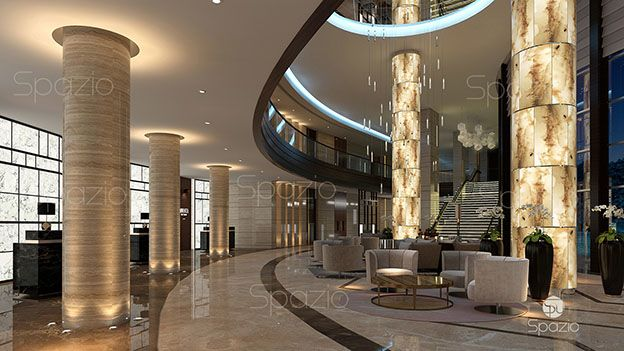 Example of hotel interior design project