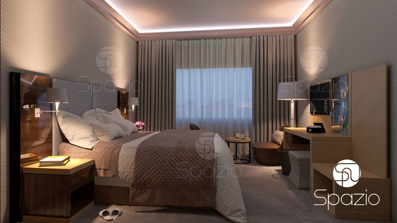 hotel room fit out spazio
