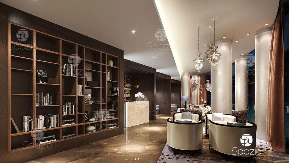 hospitality design created by Spazio firm
