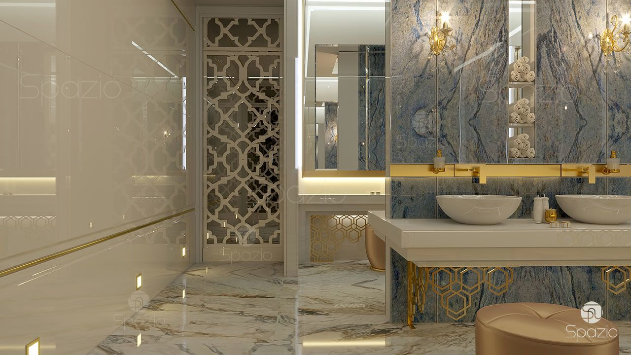 Bathroom design in dubai bathroom designs 2018 spazio for Exclusive interior designs