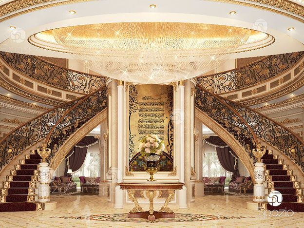 main entrance design of living palace