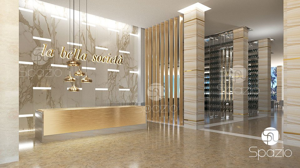 Spazio hotel design firm portfolio UAE