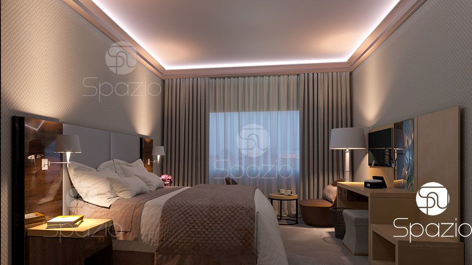 best guests room hospitality designers in Dubai