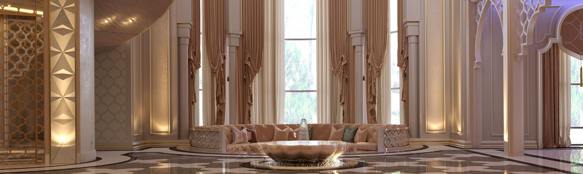Luxury Moroccan interior design projects in Dubai