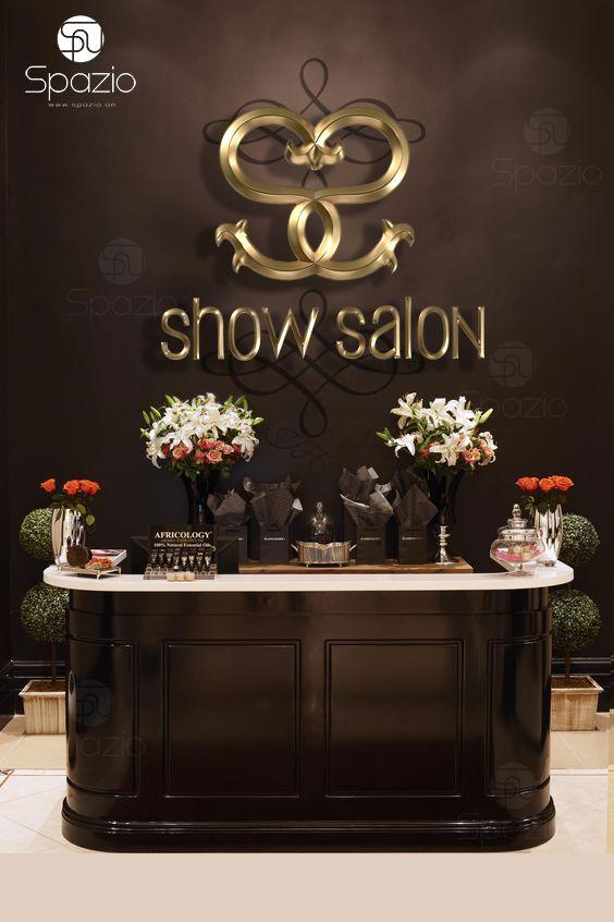 Luxury ladies salon decoration solution.