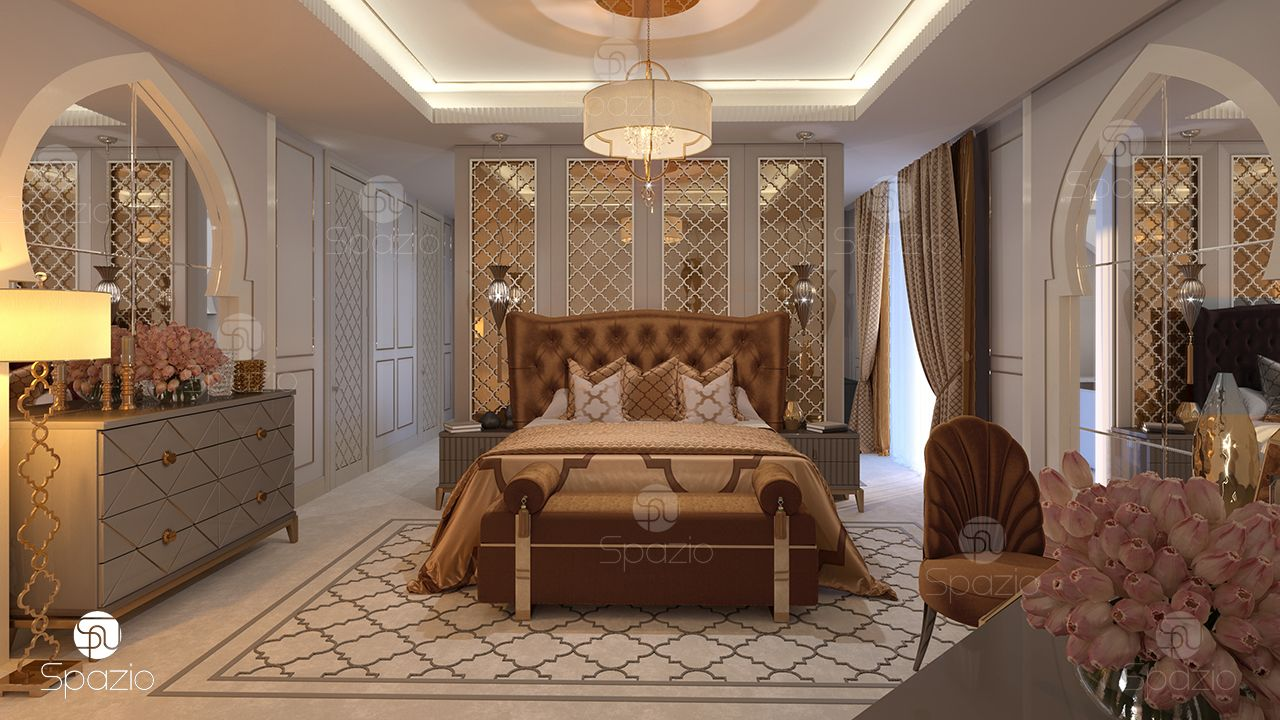 Bedrooms designed by interior designers.