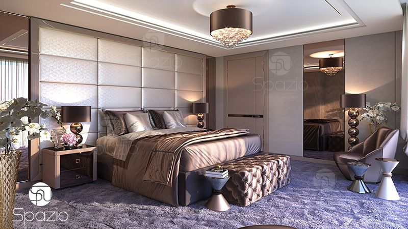 Bespok master bedroom inside decoration.