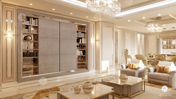 New classical decoration for-a family living room