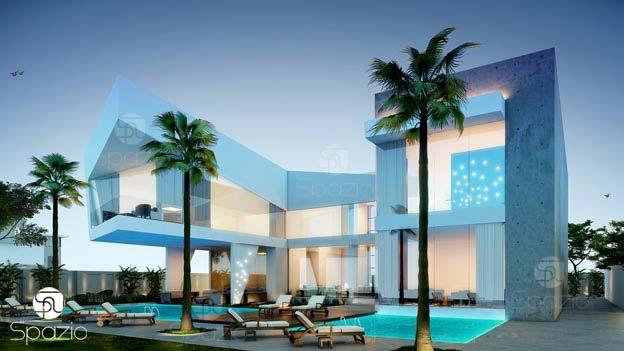 Modern house in Dubai