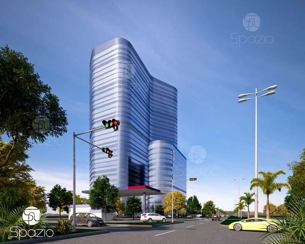 corporate office building exterior design