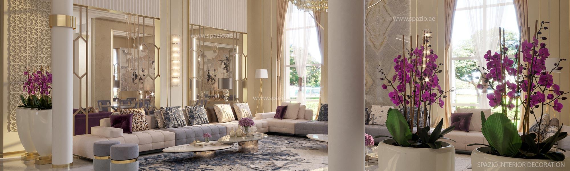 Beautiful luxury living room