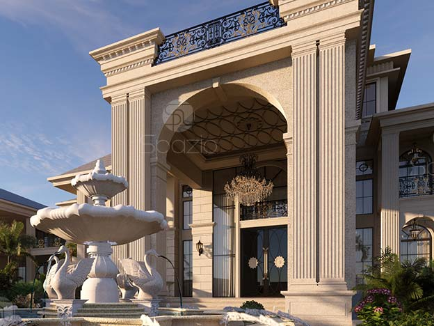 Classical Royal style recidential palace