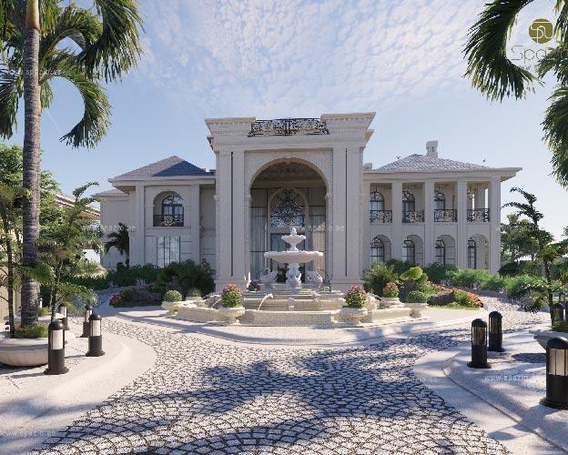 Luxury palaca exterior