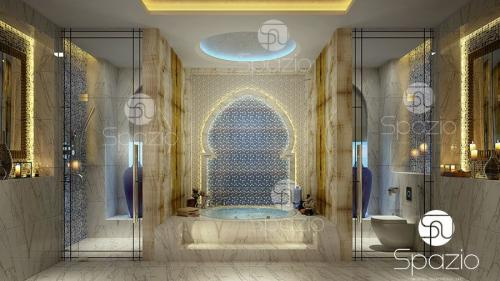 Arab bathroom designs.