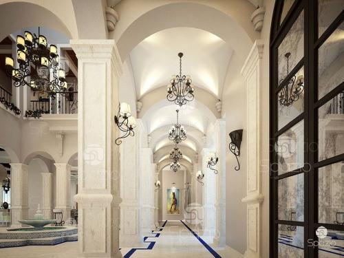 Luxury Arabian  house interior design