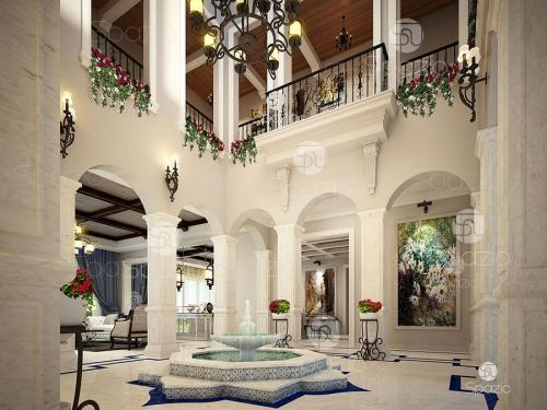 Arabic house project in the UAE.