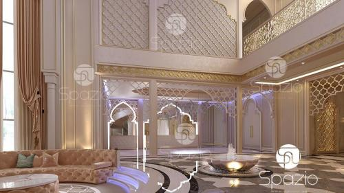 Arab inside decoration.