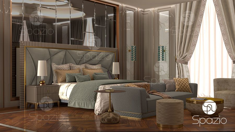 Master bedroom interior designs Gallery | Spazio