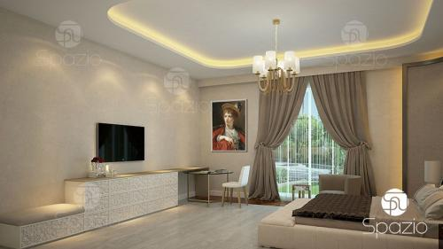 Master room with light decor