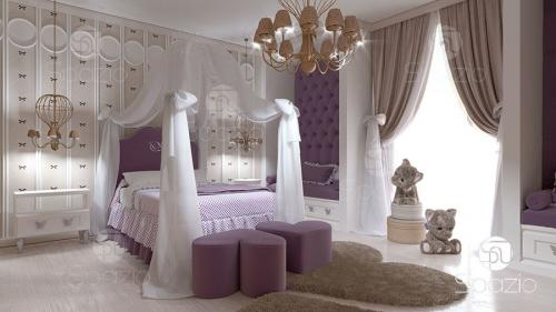 Photos of the best design of the bedroom in elegant style.