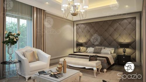 Elegant Interior and Bed Furniture Layouts