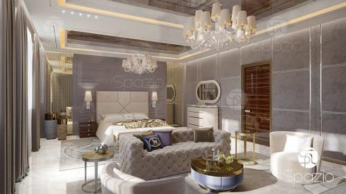 interior decoration of bedroom Dubai
