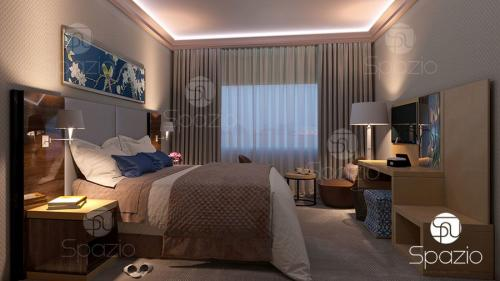 master bedroom plans designs Dubai villa