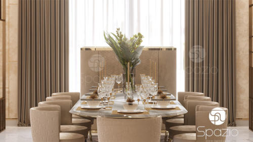 Luxury dining room Interior design and decor