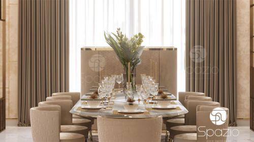 Luxury dining room Interior design and decor