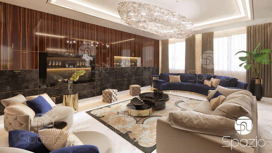 Gallery Living Room Interior Design Dubai Abu Dhabi Spazio