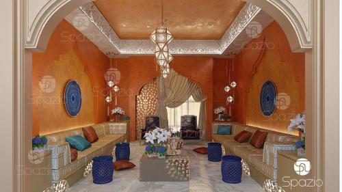 traditional arabic seating decorating